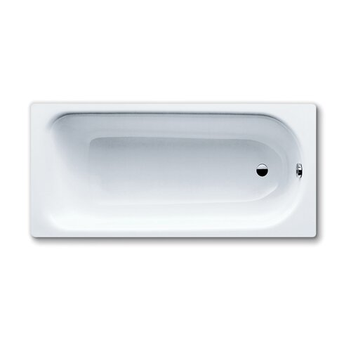 "Kaldewei Saniform Plus 67"" x 30"" Bathtub with Reversible Drain"