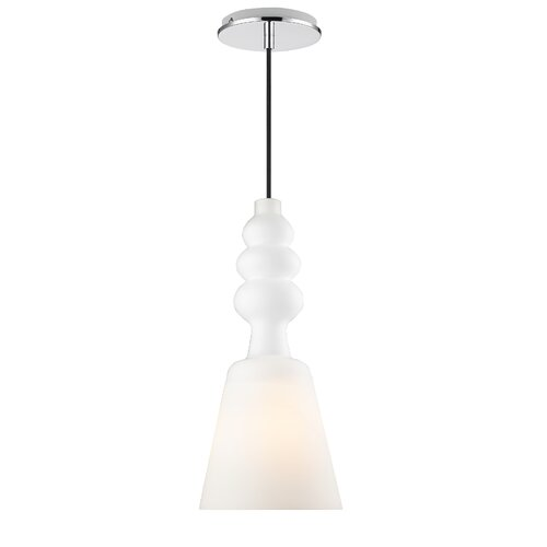 Golden Lighting Sil 1 Light Mini Pendant