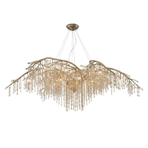 Autumn Twilight Crystal Chandelier