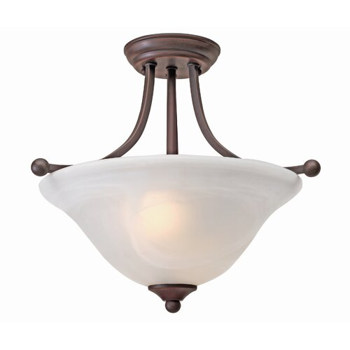 Candace 2 Lights Semi Flush Mount