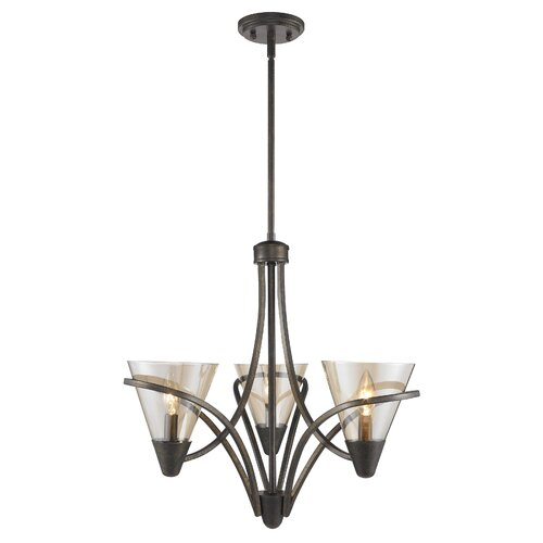 Olympia 3 Light Mini Chandelier