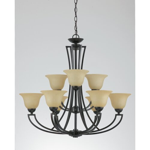 Greco 9 Light Chandelier