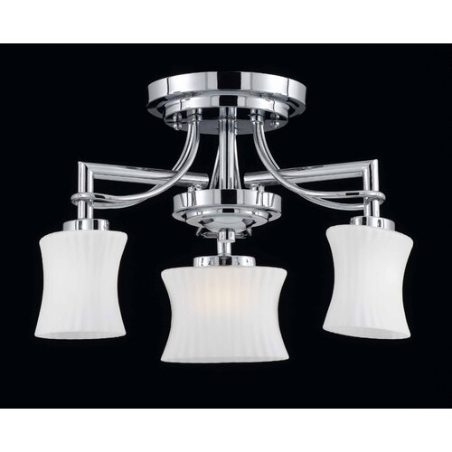 Triarch Lighting Astro 3 Light Chandelier