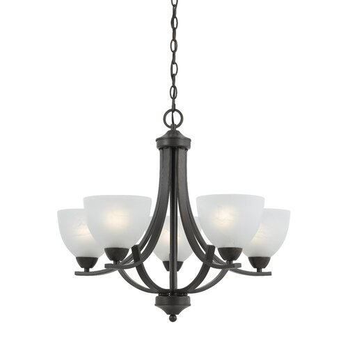 Triarch Lighting Value Series 280 5 Light Chandelier