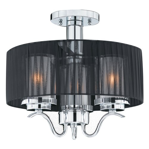 Triarch Lighting Cylindique 3 Light Chandelier