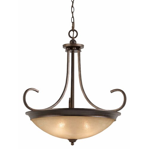 La Costa 4 Light Inverted Pendant