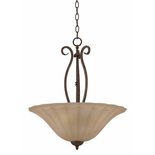 Triarch Lighting Value Series 160 3 Light Inverted Pendant