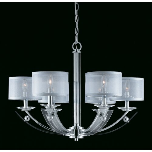 Aurora 6 Light Chandelier