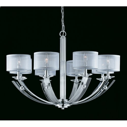 Aurora 8 Light Chandelier