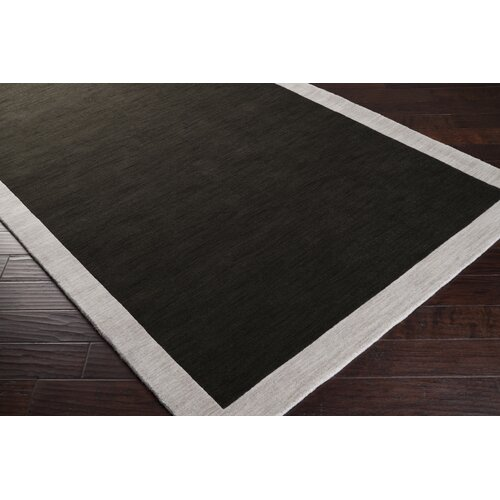 angelo:HOME Madison Square Coal Black/Oatmeal Rug