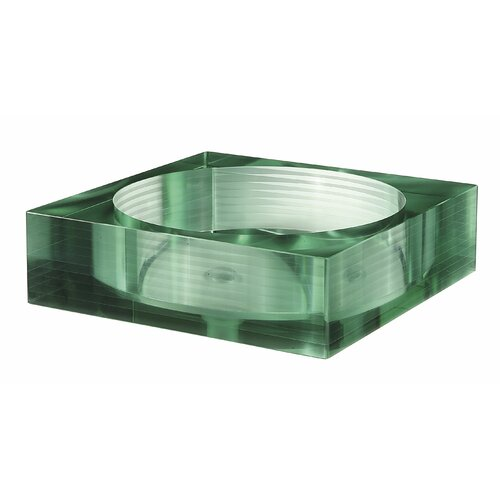 Square Glass Vessel Sink : Avanity Square Tempered Segmented Glass Vessel Bathroom Sink & Reviews ...