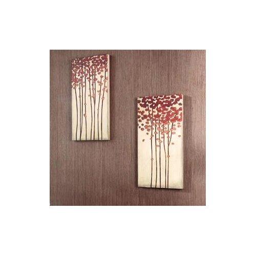 Kokoware Crafted Tree Original Painting Plaque
