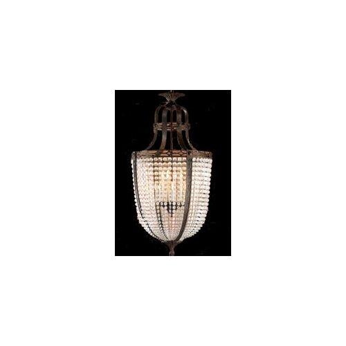 Zaneen Lighting Longas Fifteen Light Traditional Pendant in Oxidate Bronze