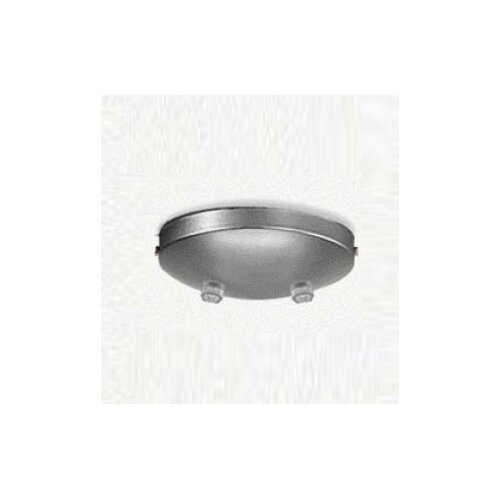 Zaneen Lighting Double Pendant Accessory Canopy in Metallic Gray