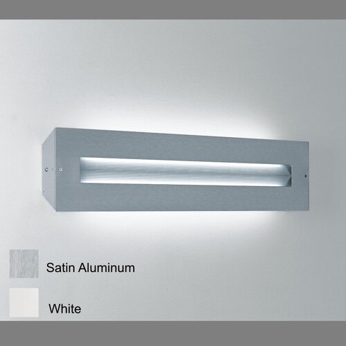 "Zaneen Lighting Finestra 24"" Contemporary 2 Light Wall Sconce"