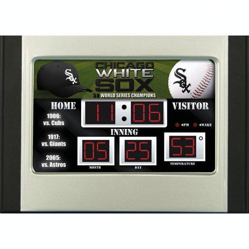 MLB Scoreboard Desk Clock (NG)