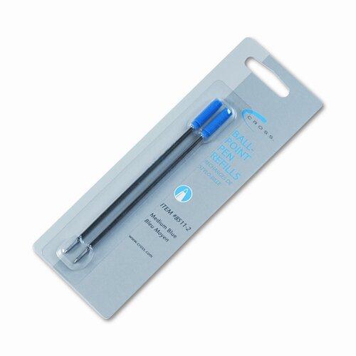 A.T. Cross Company Refills For Ballpoint Pens, Medium, 2/Pack