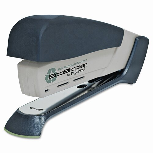 Accentra, Inc. Desktop EcoStapler, 20 Sheet Capacity, Sand