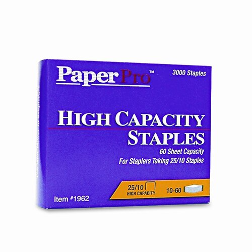 Accentra, Inc. Paperpro Heavy-Duty Staples, 3,000/Box