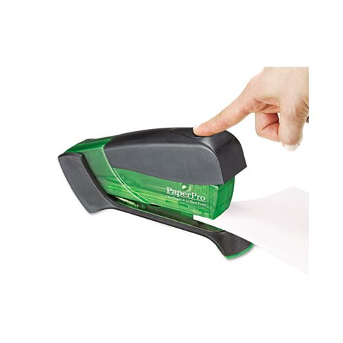 Accentra, Inc. Compact Stapler, 15 Sheet Capacity, Translucent Green