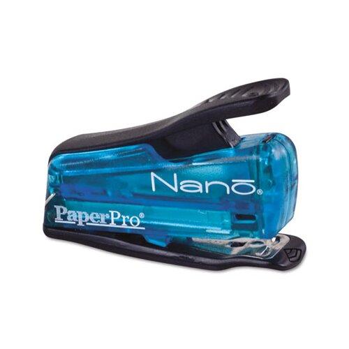 Accentra, Inc. Nano Miniature Stapler, 12 Sheet Capacity, Blue