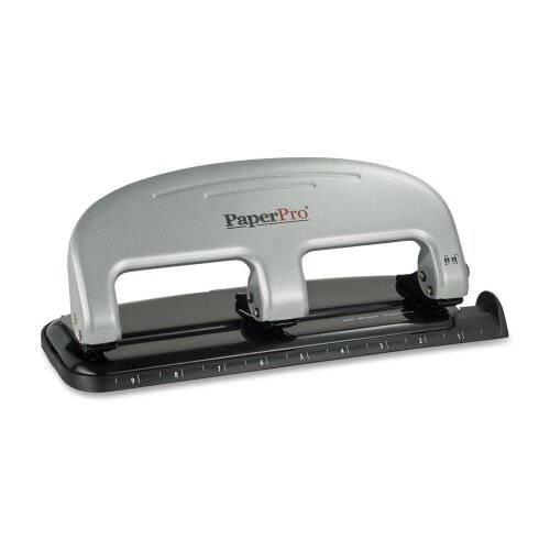 Accentra, Inc. Paperpro Three-Hole Punch, 20 Sheet Capacity