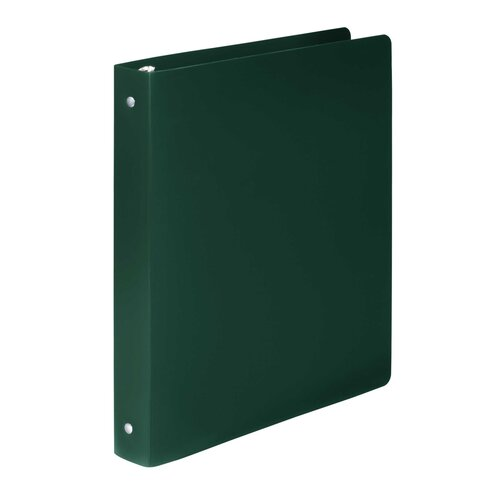 Acco Brands, Inc. Accohide Poly Ring Binder w/35-Pt. Cover, 1in Capacity