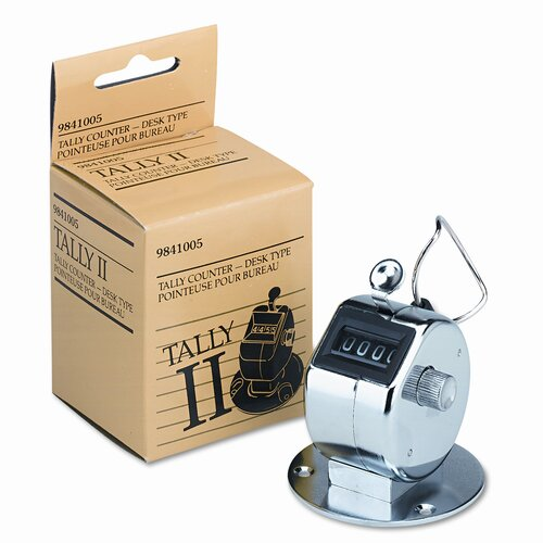 Acco Brands, Inc. GBC Tally Ii Desk Model Tally Counter