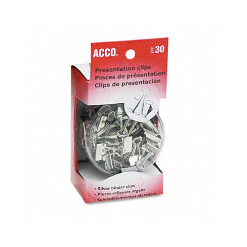 Acco Brands, Inc. Presentation Clips, 30/Box