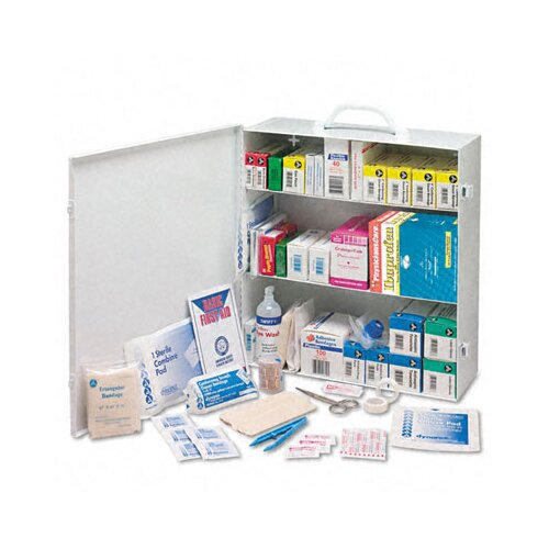 Acme United Corporation Physicianscare Industrial First Aid Kit For 100 People, Contains 694 Pieces