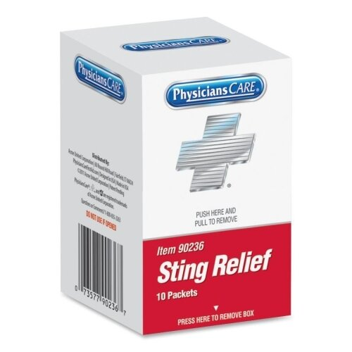 Acme United Corporation Sting Relief Pad (10 Per Box)