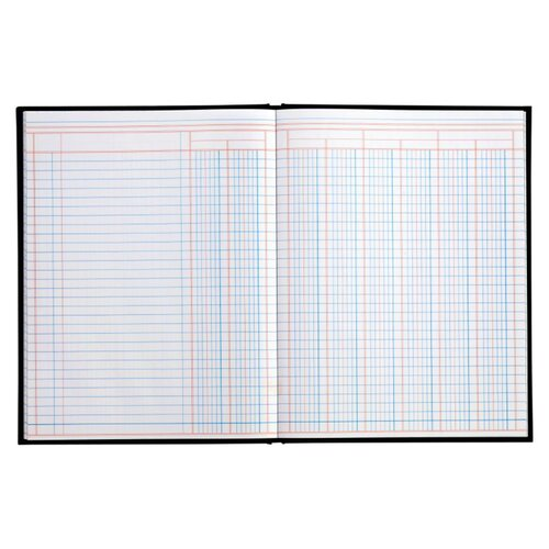 Adams Business Forms 8 Column Cloth Cover Account Book