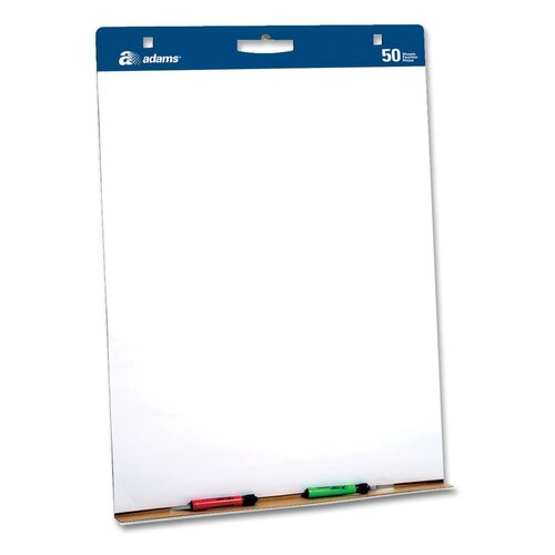 Adams Business Forms Easel Pad with Carry Handle