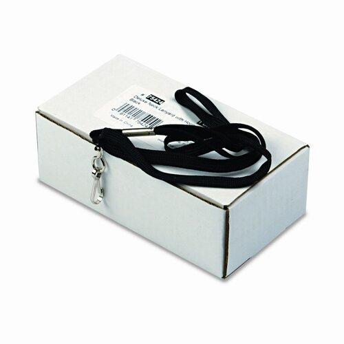 "Advantus Corp. Deluxe Lanyards, J-Hook Style, 36"" Long, 24/Box"