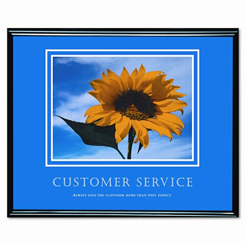 Advantus Corp. Customer Service Framed Photographic Print