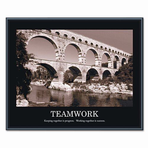 Advantus Corp. 'Teamwork' Framed Photographic Print