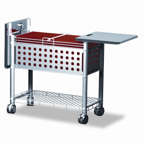 Advantus Corp. Vertiflex Smar2rx File Cart, 1-Shelf, 29-1/8W X 14D X 28-3/8H