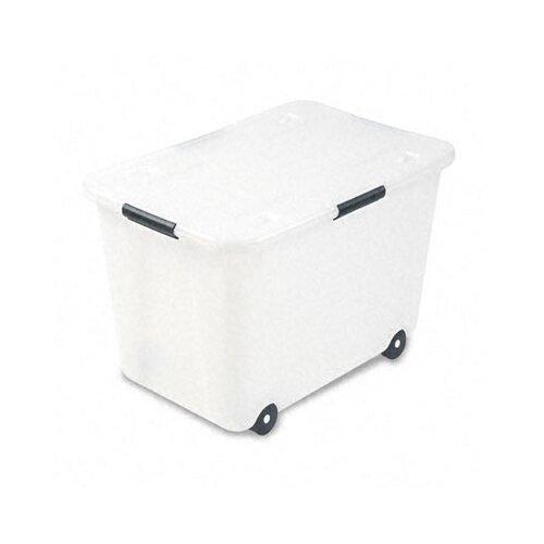 Advantus Corp. Rolling Storage Box, Letter/Legal, 15-Gallon Size