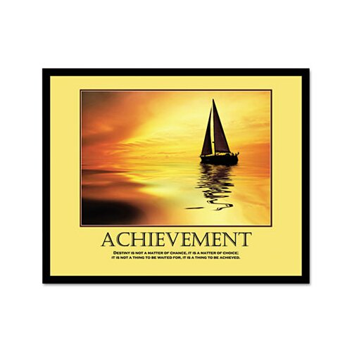 Advantus Corp. Achievemant Framed Photographic Print