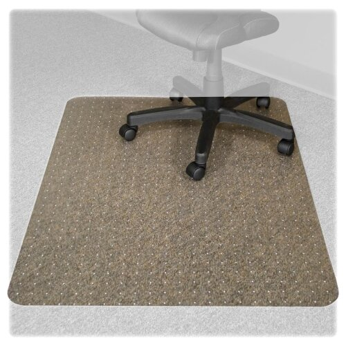 Advantus Corp. Recyclear Chairmats for Carpets, 45 X 53, 25 X 12 Lip