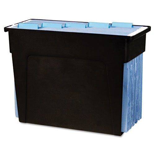 Advantus Corp. Desktop File Box, 6X13 1/2X 10 1/2, Letter