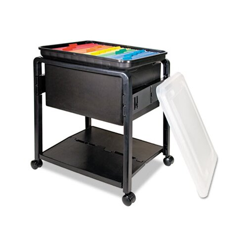 "Advantus Corp. 21"" Folding Mobile File Cart"
