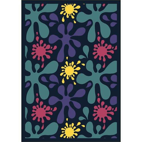 Joy Carpets Whimsy Splat Kids Rug