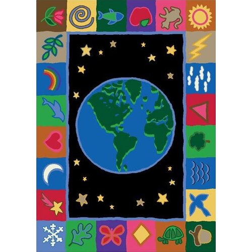 Joy Carpets Educational EarthWorks Kids Rug