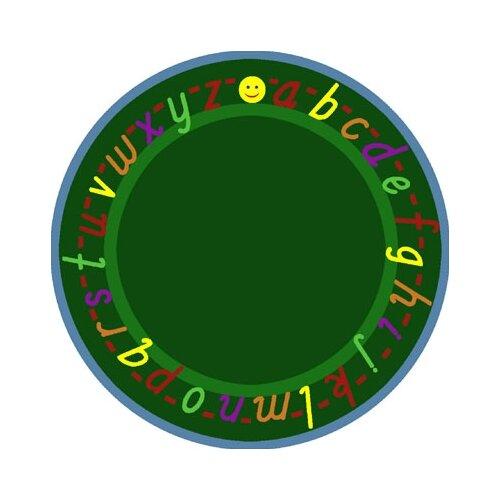 Joy Carpets Educational AlphaScript Bold Design Kids Rug