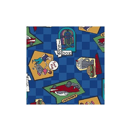 Joy Carpets Just for Kids Fabulous Fifties Kids Rug