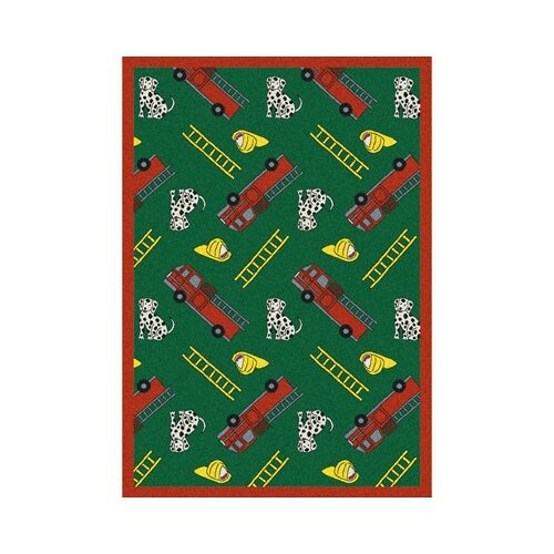 Joy Carpets Just for Kids Hook and Ladder Kids Rug