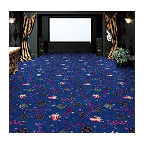 Joy Carpets Gaming and Entertainment Cinema Novelty Rug