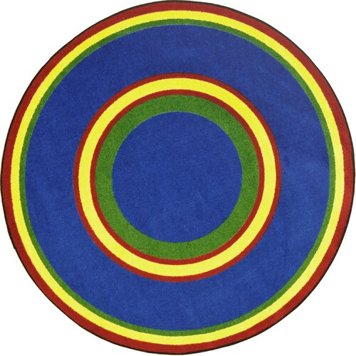 Joy Carpets Kid Essentials Ripples Primary Kids Rug