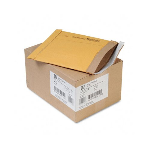 Sealed Air Corporation Jiffy Padded Self-Seal Mailer, Side Seam, #2, 25/Carton